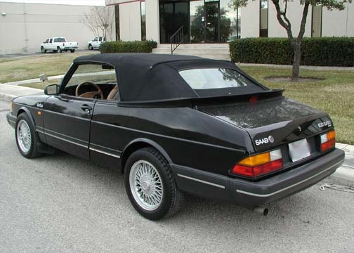 SAAB 900 Classic Convertible Pictures