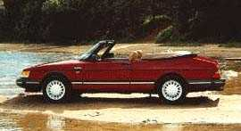 SAAB 900 Classic Turbo Convertible