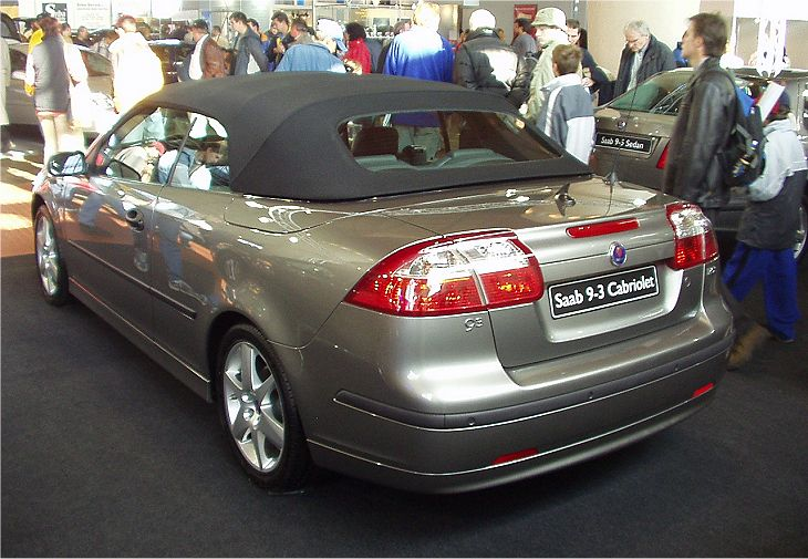 saab 9 3 cabrio 2003. Black Bedroom Furniture Sets. Home Design Ideas