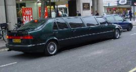 SAAB 9000 CSE Stretch Limo
